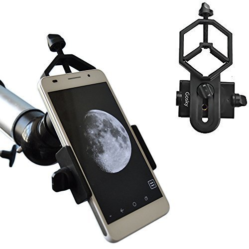 Gosky Universal Cell Phone Adapter Mount - Compatible with Binocular Monocular Spotting Scope Telescope and Microscope