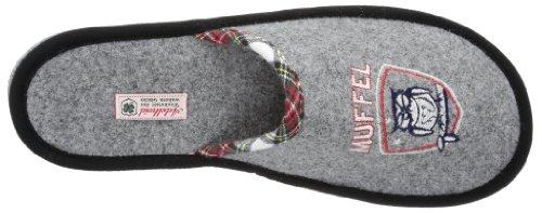 Adelheid Morgenmuffel Filzpantoffel - Pantuflas de fieltro hombre gris - Grau (mausgrau 940)