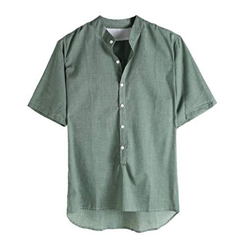 2c7d099c2f673a 半袖tシャツ メンズ ドライMasinal ソリッドカラーコットン 無地 tシャツ カットソー 七分袖