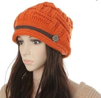 8a0adfadd8ce0 Amazon.com   GMB Fashion Women Warm Rag-eared Baggy Winter Beanie Crochet  Hats Caps   Eau De Parfums   Beauty