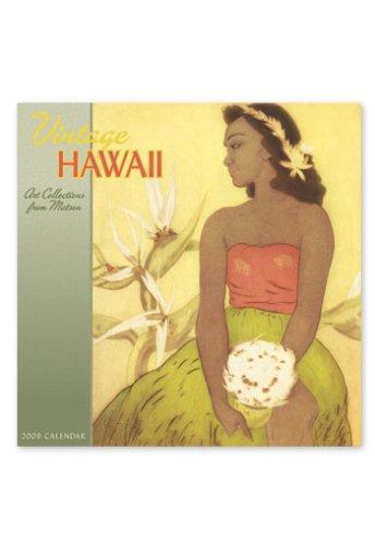 2009 Twelve Month Calendar - Vintage Hawaii, Art Collections from Matson 2009 12 Month Deluxe Calendar