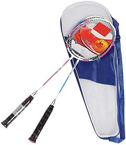 バドミントンラケット 高弾性 軽量 ポータブル アルミ合金 フィットネス ボールトレーニングラケット