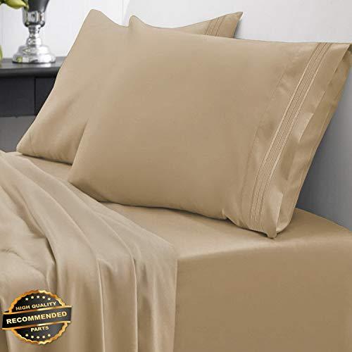 Gatton New Premium 1800 Thread Count Sheet Set Egyptian Quality Deep Pocket | LINENIENHM-182011776 King