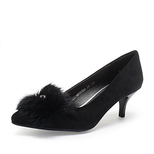 PUMPS Fußlänge 9Inch Spitze 8CM Heels Toe High Damen 22 A Shoes F0qarF