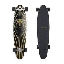 Maikesi MKAQ0501 Complete 40-Inch Longboard with Kick Tail Skateboard by MAIKESI
