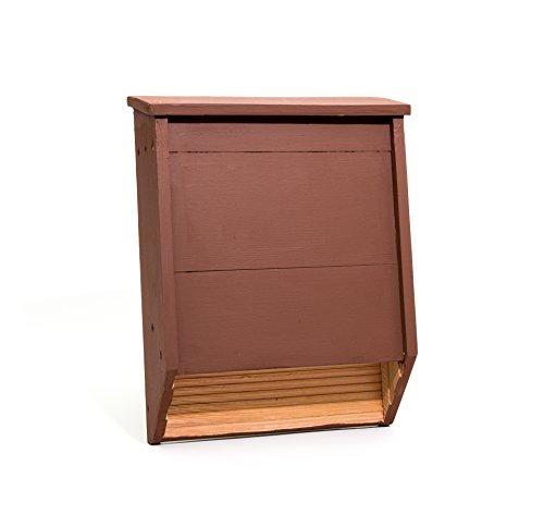 Big Bat Box 2-Chamber Cedar Bat House (Brown) by Big Bat Box (Image #7)