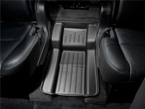 (WeatherTech Custom Fit Rear FloorLiner for Select Chevrolet/Cadillac/GMC Models (Black))