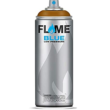 Flame Blue Ocher Color Graffiti Spray Paint - FB 706 (400 ml)