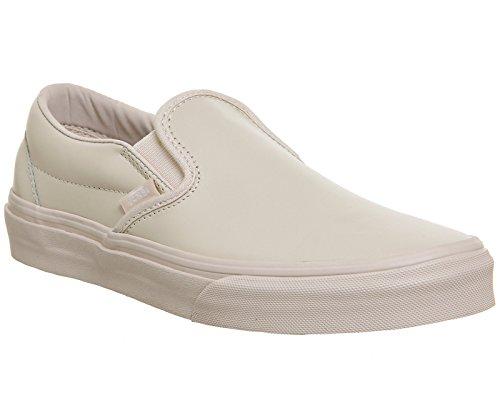 Sneakers Slip-on Classic (in Pelle) Con Cinturino Rosa / Mono