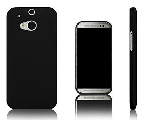 Xcessor Vapour Flexible TPU Gel Case For HTC One M8 (New M8 Model). Black (Htc New Model)
