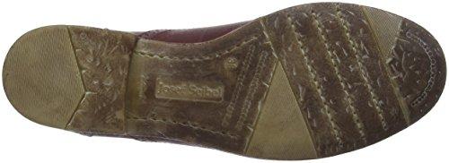 Mujer 410 89 Cordones Zapatos Seibel para Oxford Josef Rojo de Sienna Bordo wP8qEF