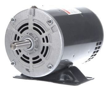 (Dayton 1 HP Direct Drive Blower Motor, 3-Phase, 1725 Nameplate RPM, 208-230/460 Voltage, Frame 56 - 4YU38)
