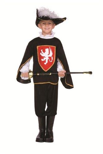 Musketeer Boy - Large, Blue (Musketeer Costume Hat)