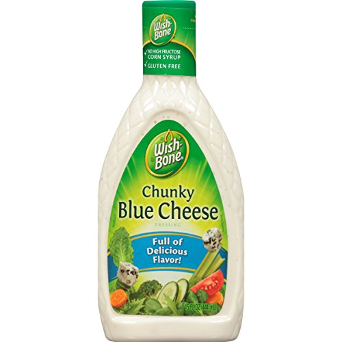 Wish-Bone Salad Dressing, Chunky Blue Cheese, 15 Ounce Cheese Salad