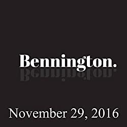 Bennington, November 29, 2016