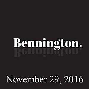 Bennington, November 29, 2016 Radio/TV Program