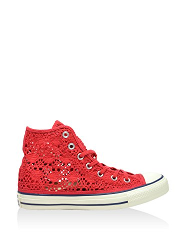All Hi Star Femmes Pour Rouge Montantes Chaussures Converse 4Bq1wPB