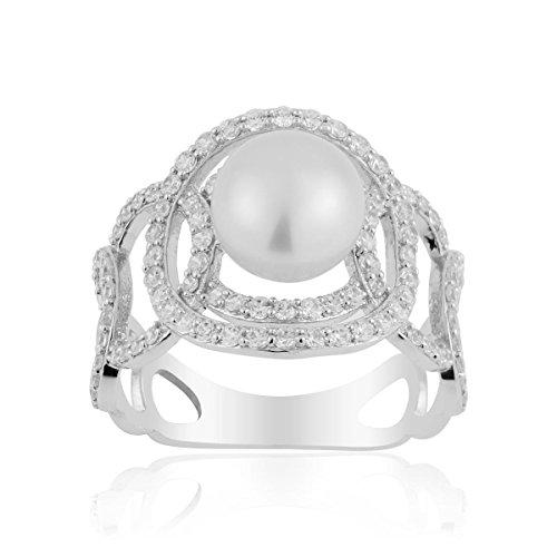 Bague CLEOR Argent 925/1000 Perle - Femme