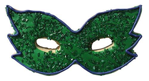 "CybrTrayd RM-0934 R&M Mardi Gras Mask 4"" Cookie Cutter, Metallic"