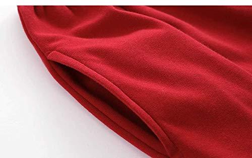 Usar Baujuxing Pijamas Algodón Servicio Camisón A Mujeres Domicilio Primavera Se Traje Del Y Pueden Otoño Rayas Camisones De M Xl Fuera Rojas 100 6frfwxq4