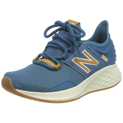 chollos oferta descuentos barato New Balance Fresh Foam Roav Zapatillas para Correr de Carretera Mujer Azul Claro 41 EU
