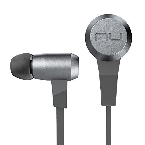 Optoma NuForce BE6 Superior Sounding Wireless Bluetooth Earphones with aptX and AAC Support, Grey