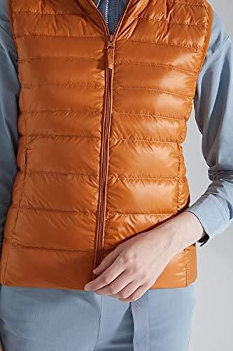 Air Légère Gilet Sans Couleur Plein En Matelassé Manches Veste D'extérieur Cnmf Hiver Femmes Caramel Confortable wxqZ0Hfv