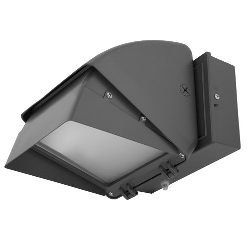 Hubbell Outdoor Lighting WGC42F 42-watt CFL Compact Wallpack  with Lamp, Full Cut-Off and Quad-Tap Ballast, Bronze