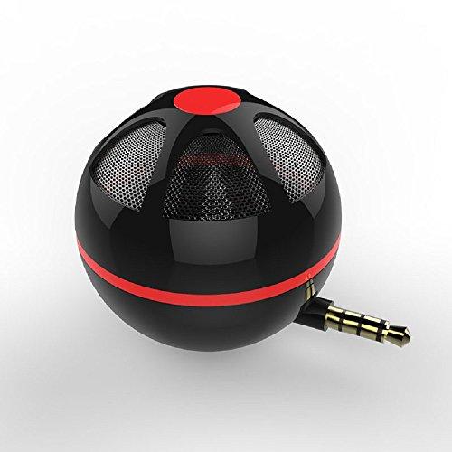 Suncer 3 5MM Jack Plug-in Wireless Mini Speaker for Mobile Phone Laptop  Tablet Computer