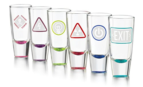 Glow Shot Glass (Libbey Glow Shots - 6 Glow-in-the-Dark Shot Glasses)