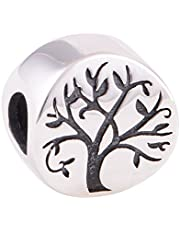 The Kiss Tree of Life 925 Sterling Silver Bead Fits European Charm Bracelet