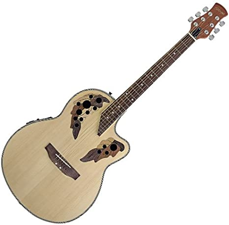 Guitarra electro acústica Roundbacks Stagg A2006-N color natural