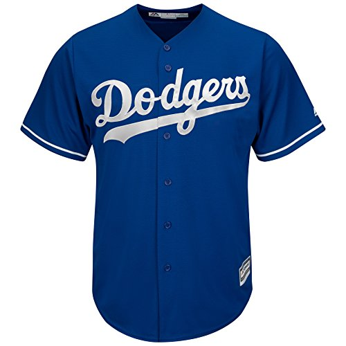 Yasiel Puig Los Angeles Dodgers MLB Blue Youth Cool Base Replica Alternate Jersey (Youth Large 14/16) (Authentic Blue Baseball Jersey)