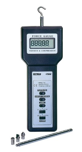 Extech 475040-SD-NIST Force Gauge Data Logger with NIST