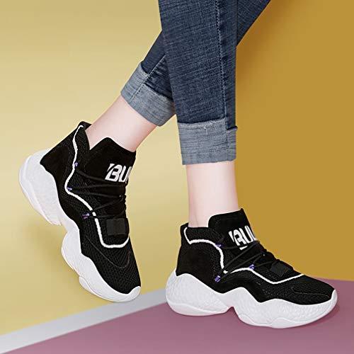 Sportive Lace Donna top Yan New Scarpe Corsa B Da Mesh Up Allenamento Fitness Antiscivolo Sneakers Low amp; Casual Cross 8FFwqvEY
