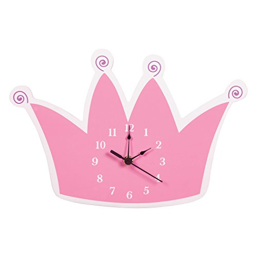 (Trend Lab Tiara Wall Clock, Pink)