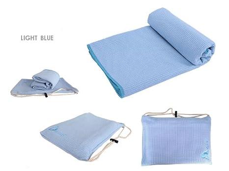 Ambiental TPE Yoga absorbente, toallas de tienda de esterilla de yoga & antideslizante profesional,