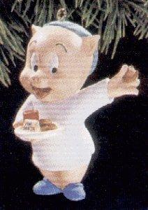 Looney Tunes Porky Pig 1993 Hallmark Ornament QX5652