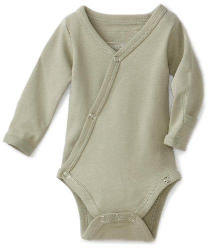 (L'ovedbaby Unisex-Baby Newborn (up to 7 lbs.) Kimono Bodysuit, Keen Green, Newborn (up to 7 lbs.))