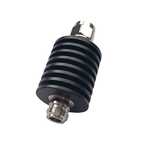 Attenuator Connector - BECEN 30W N male to female connector RF attenuator,1-50db,DC to 3GHz,50 Ohm (6db)