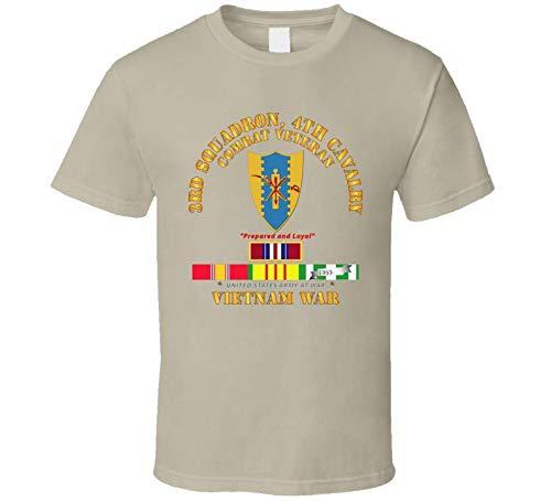 MEDIUM - Army - 3rd Squadron 4th Cav- Vietnam War W Vn Svc Plus T-shirt - ()