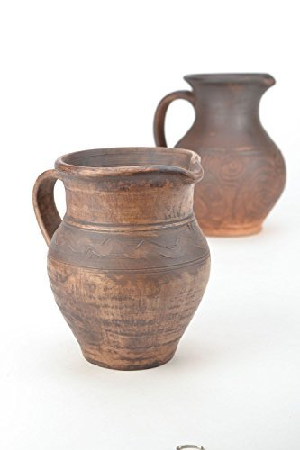Ceramic Clay Handmade Pitcher Kitchen Tools and ()