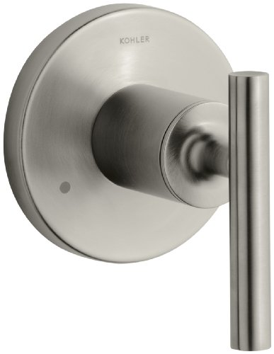 KOHLER K-T14491-4-BN Purist Transfer Valve Trim, Vibrant Brushed Nickel
