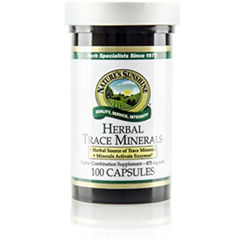 Herbal Trace Minerals (100) by Nature's Sunshine