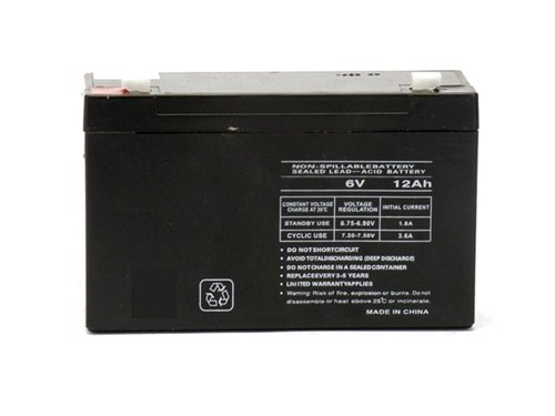 6v 10000 mAh UPS Battery for Carpenter Watchman CC-2