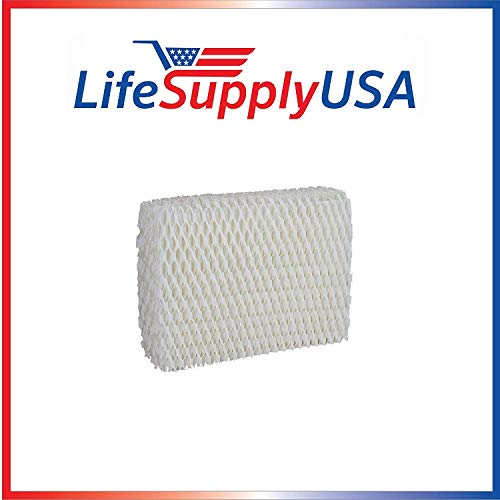 LifeSupplyUSA Humidifier Filter Compatible with Sears Kenmore Humidifier 14803 14804 Wick Filter. Compatible with Sears Kenmore Models 14804, 14103, 14104, 14113, 14114, 14121 and 14122 (Humidifier Filters Kenmore 14114)