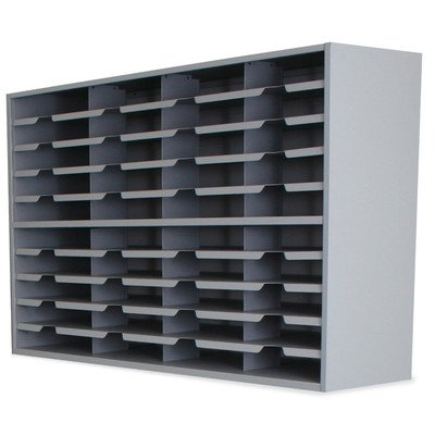 Mailroom 40 Pocket Sorter Finish: Slate Gray