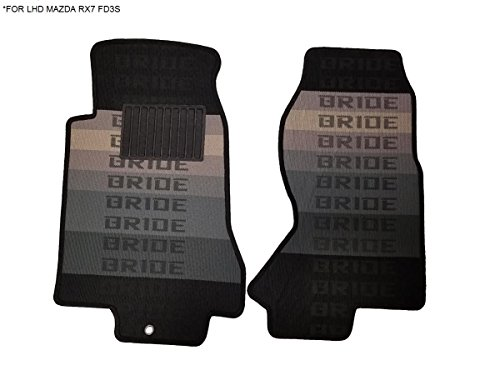 Kei Project 93-95 Bride Fabric Custom Fit Mazda RX7 RX-7 FD3S Floor Mats Interior Carpets LHD