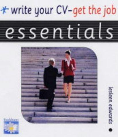 Write Your Cv : Get the Job (Essentials) ebook