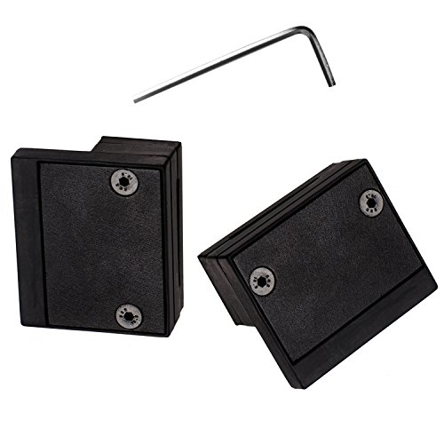 EaseLife 12 FT Double Door Heavy Duty Big Wheel Sliding Barn Door Hardware Track Kit - Ultra Hard Sturdy | Slide Smooth Quiet | Easy Install | Fit Two 30''~36'' Wide Door | 12FT Track Double Door Kit by EaseLife (Image #7)